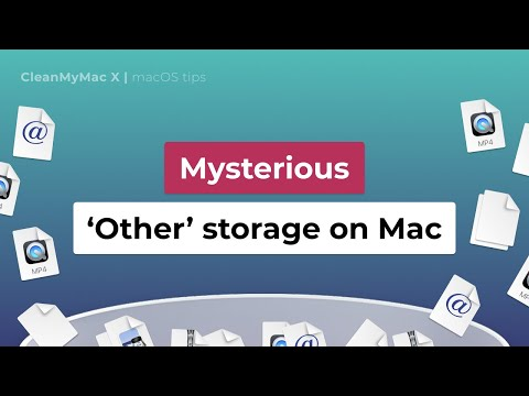 What does other mean in macbook storage