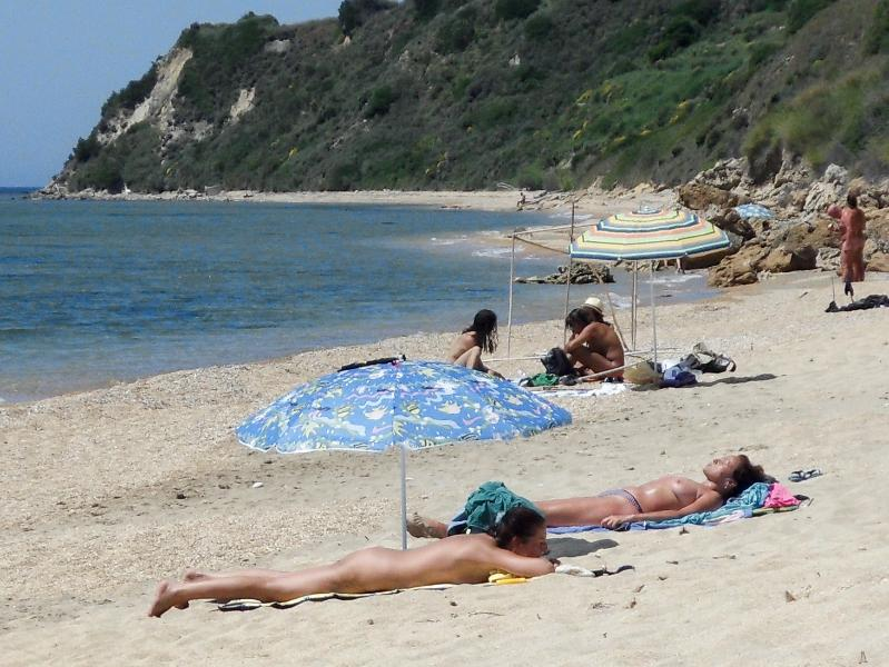 Family holiday home nudists